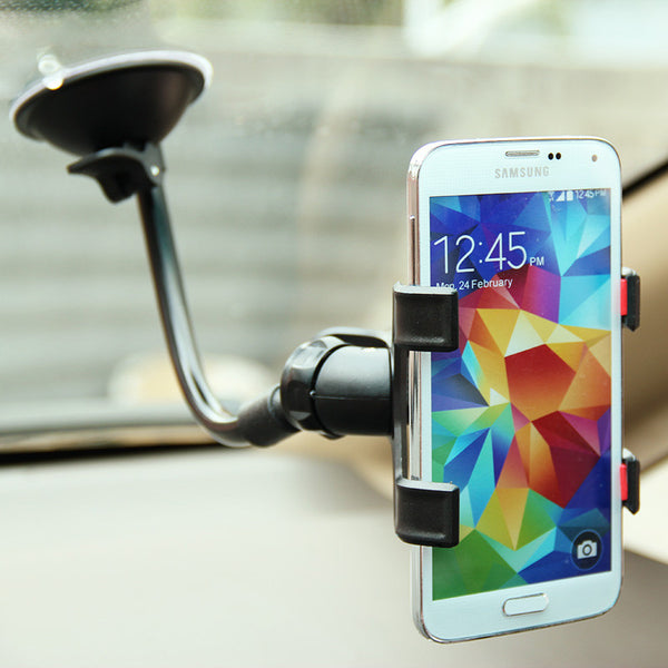 Flexible Suction Pad Universal Car Mobile Phone Holder by HOTR - Titanwise