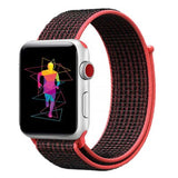 Sports Soft Breathable Nylon Strap Band for Apple Watch Series 1, 2, 3, 4, 5
