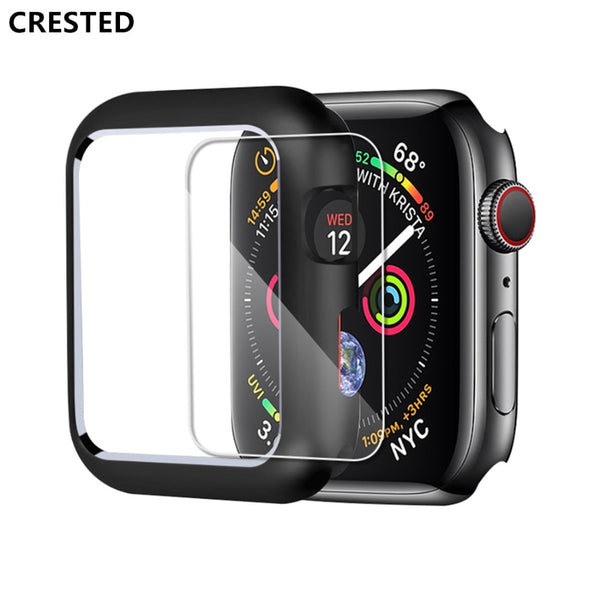 CRESTED Magnetic Protective Case for Apple Watch Series 1, 2, 3, 4 with Screen Protector