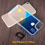 Moving Liquid Case For iPhone 5, 5S, 5C, SE, 6, 6 Plus, 6S, 6S Plus, 7, 7 Plus, 8, 8 Plus, X