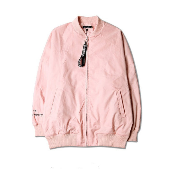 NUDE PINK BOMBER JACKET