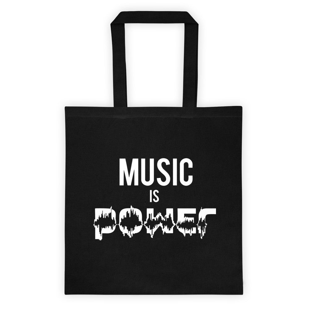 Music Is Power Tote bag