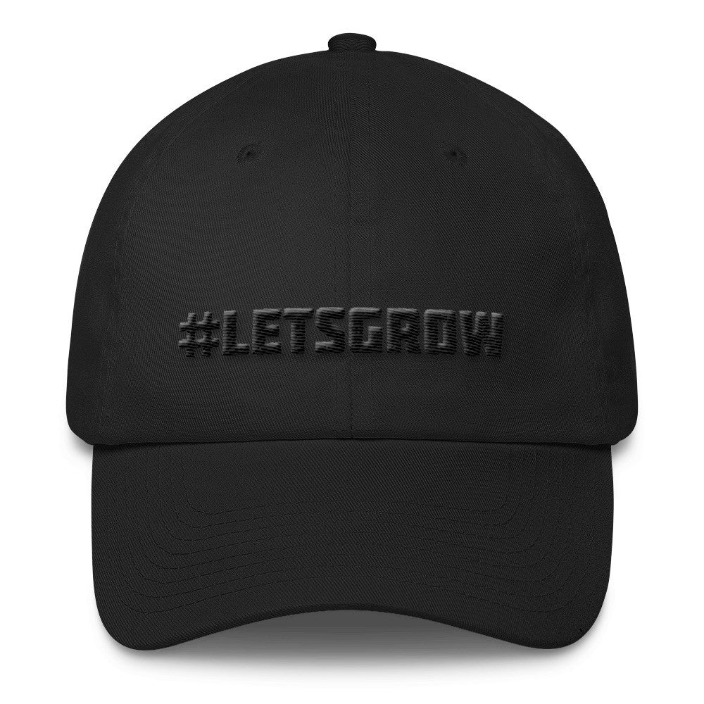 #LETSGROW Cotton Dad Hat