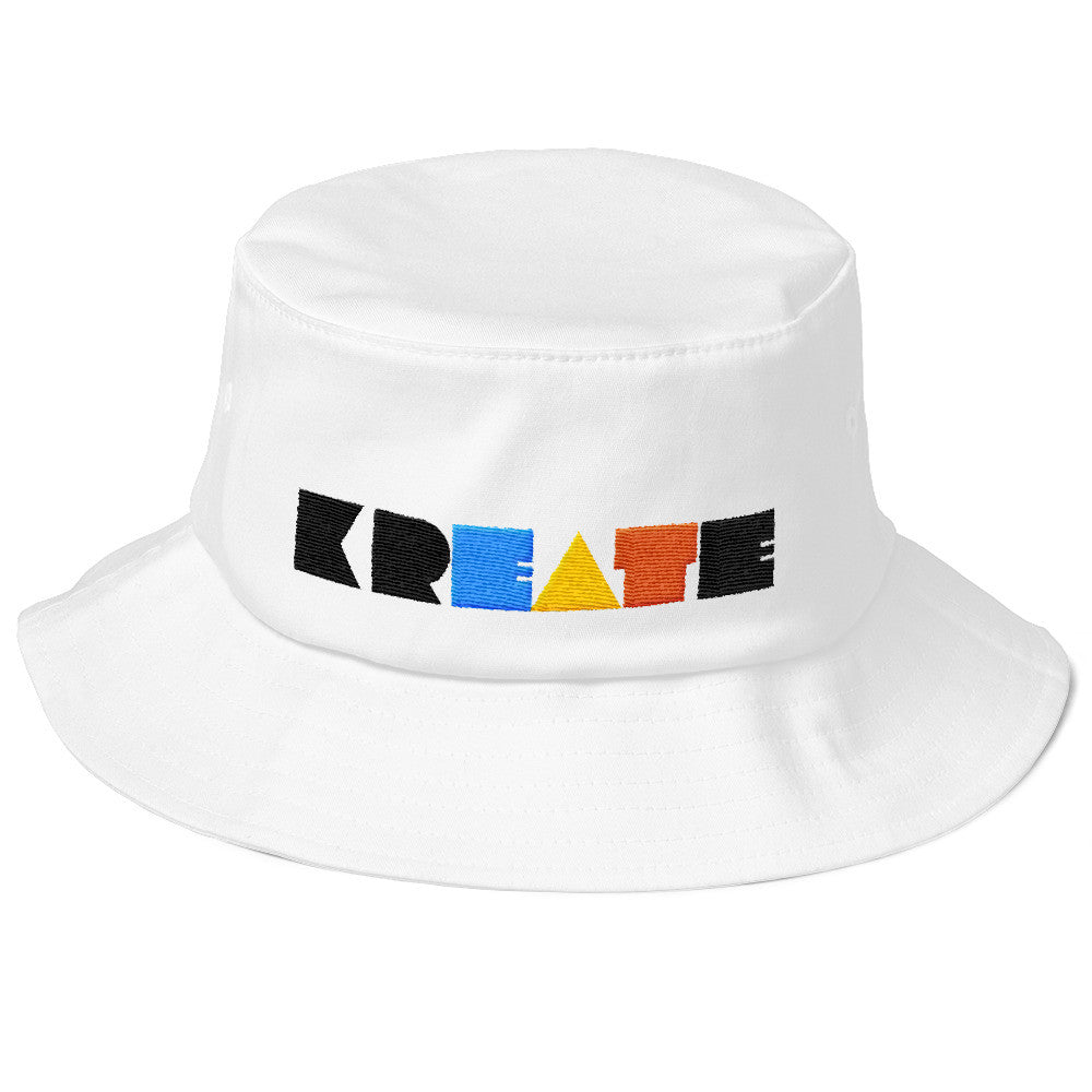 Old School KREATE Bucket Hat