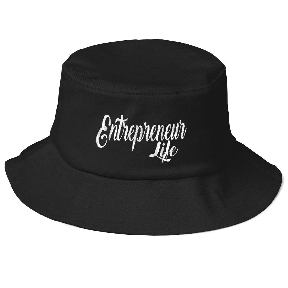 Old School ENTREPRENEUR LIFE Bucket Hat