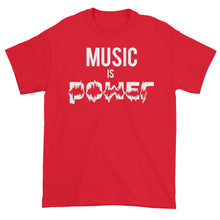 Music Is Power Short sleeve t-shirt