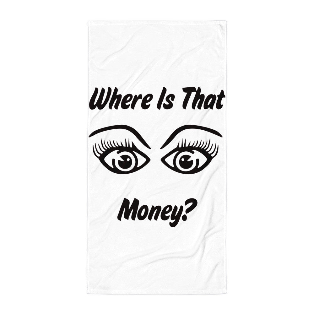 Where Is That Money Beach Blanket
