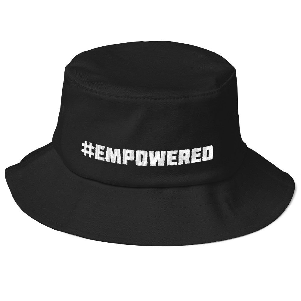 Old School #EMPOWERED Bucket Hat