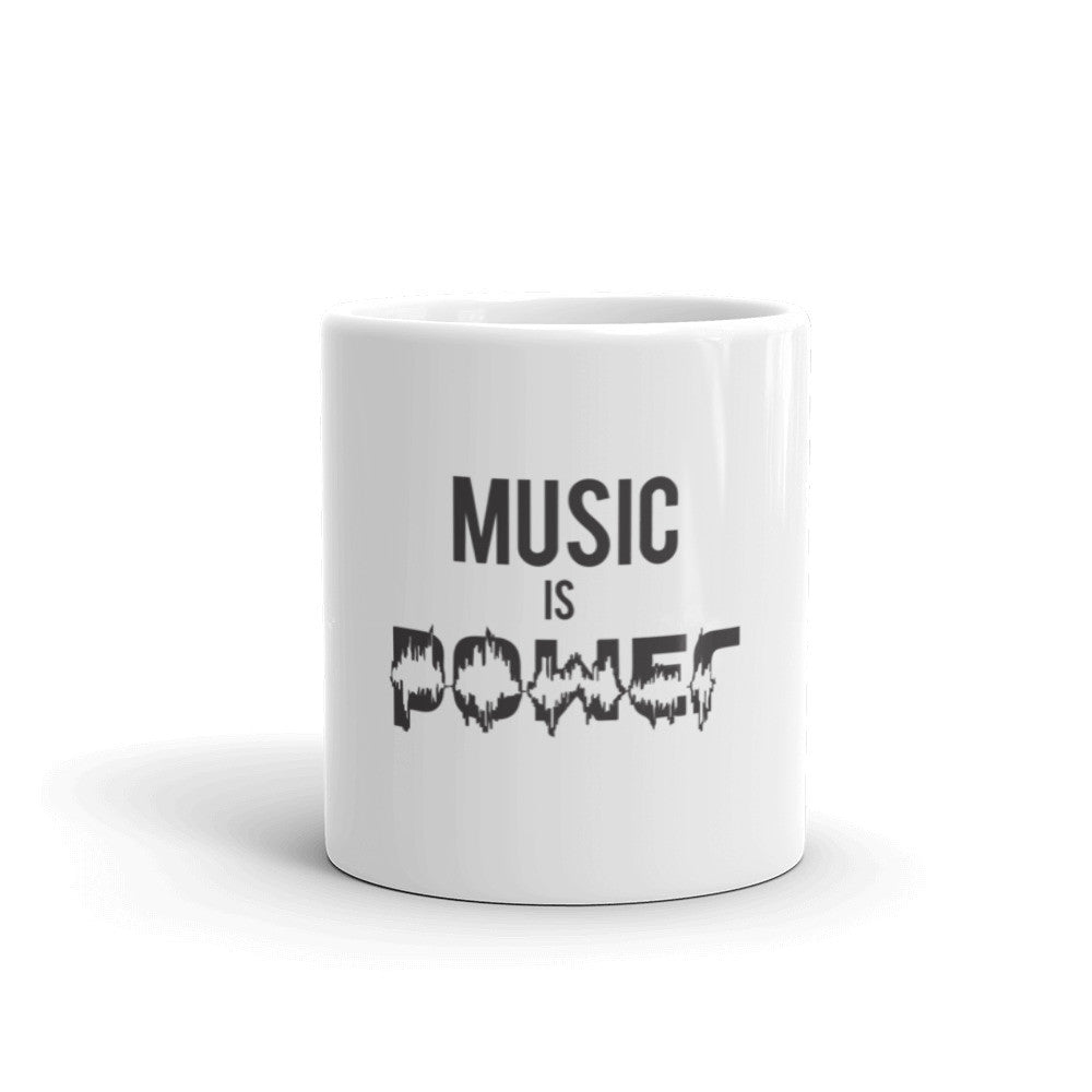 Music Is Power Mug made in the USA