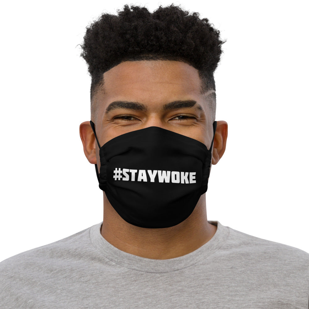 #STAYWOKE Face Mask