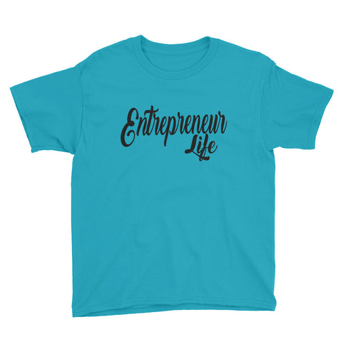Entrepreneur Life Youth Short Sleeve T-Shirt