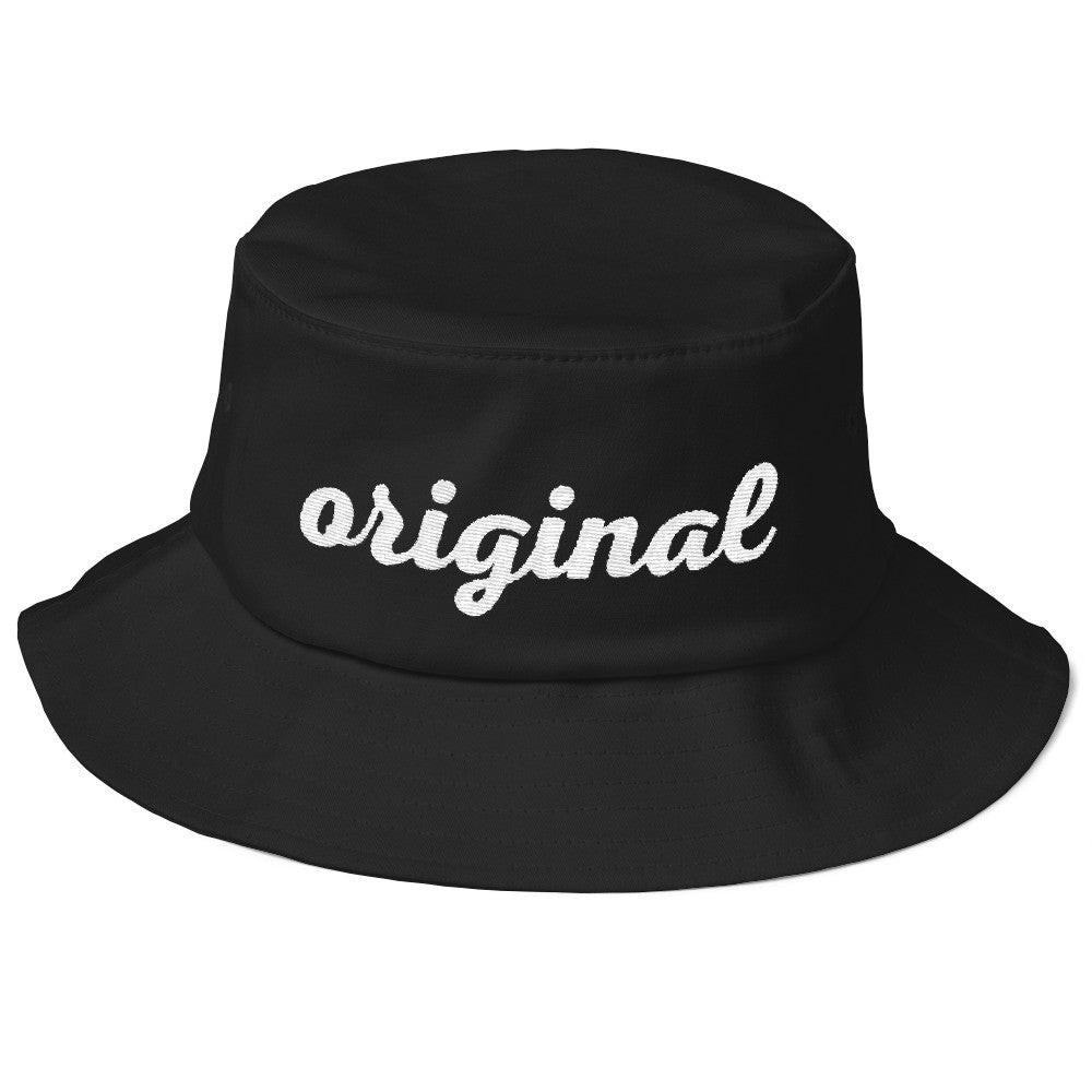 Old School ORIGINAL Bucket Hat