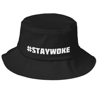 Old School #STAYWOKE Bucket Hat