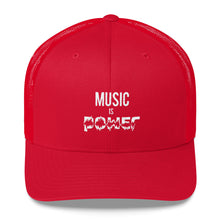 MUSIC IS POWER Trucker Cap