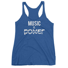 Music Is Power Women's tank top