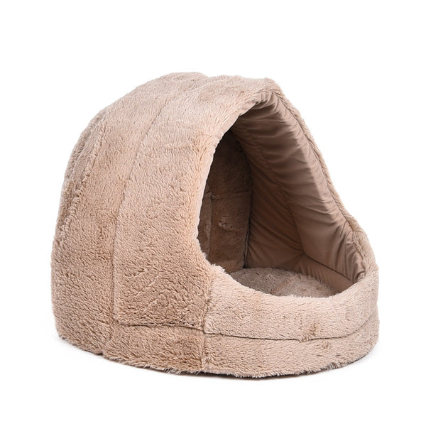 Luxury Covered Fleece Dog Bed