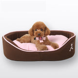 Luxury Small Pink Dog Bed