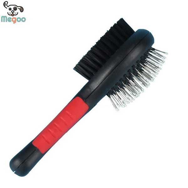 Double Faced Pet Dog Brush