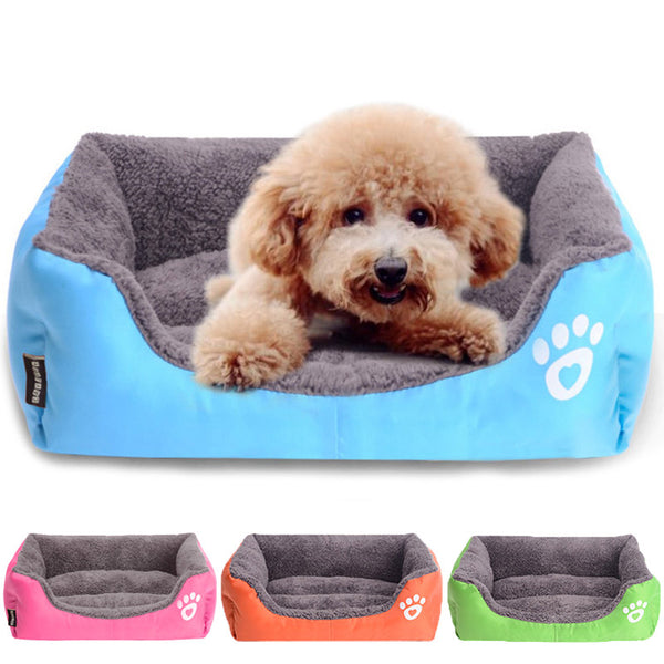 Summer Rectangle Shih Tzu Bed
