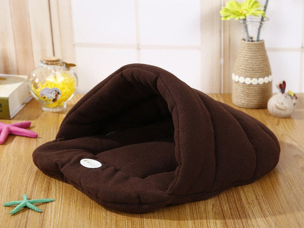 Shih Tzu Bed Faux Fur Nest