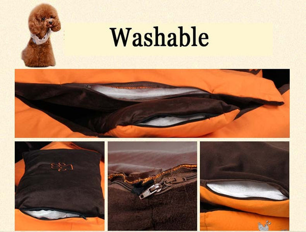 Luxury Detachable 3-piece Dog Bed Set (Bed/Pillow/Blanket)