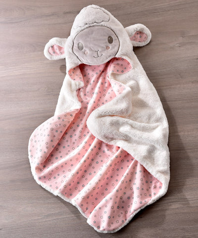 LAMB HOODED BATH TOWEL