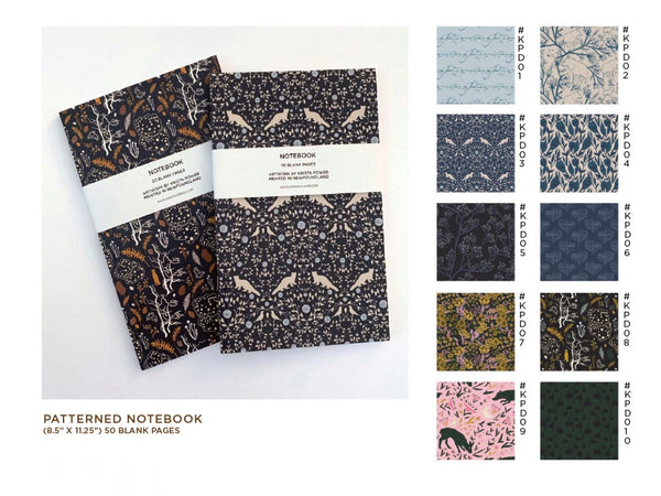KRISTA POWER NOTEBOOKS (+COLOURS)