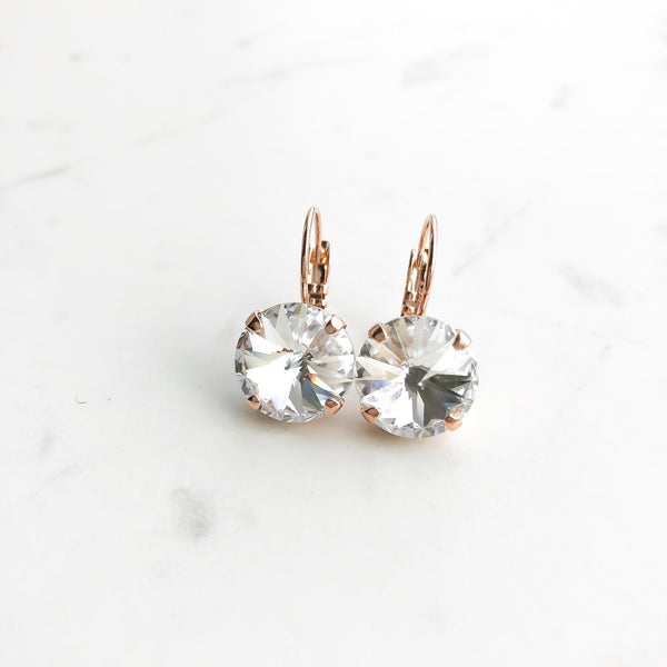 GLEAM EARRINGS (ROSE GOLD)