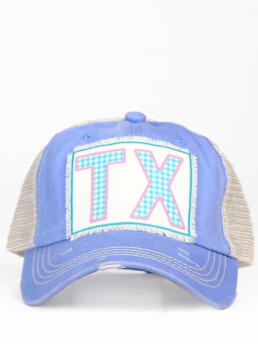 TX Cap Powder Blue/Mesh