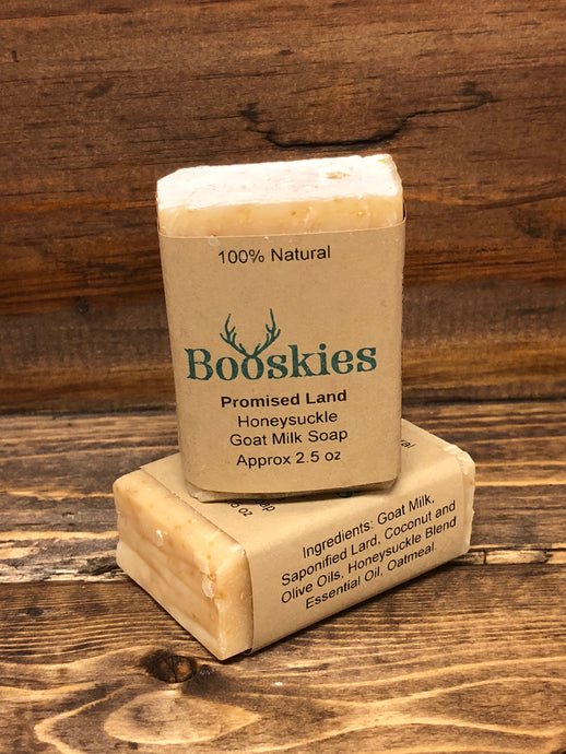 2oz Promised Land Goat Milk Soap