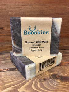 5oz Summer Night Walk Goat Milk Soap