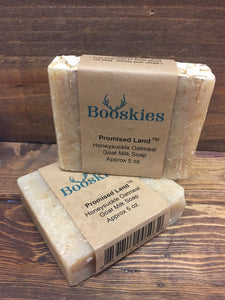 5oz Promised Land Goat Milk Soap