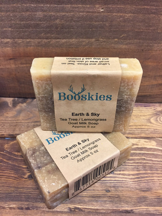 5oz Earth & Sky Goat Milk Soap