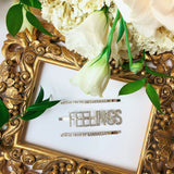 FEELINGS HAIR CLIPS | SILVER