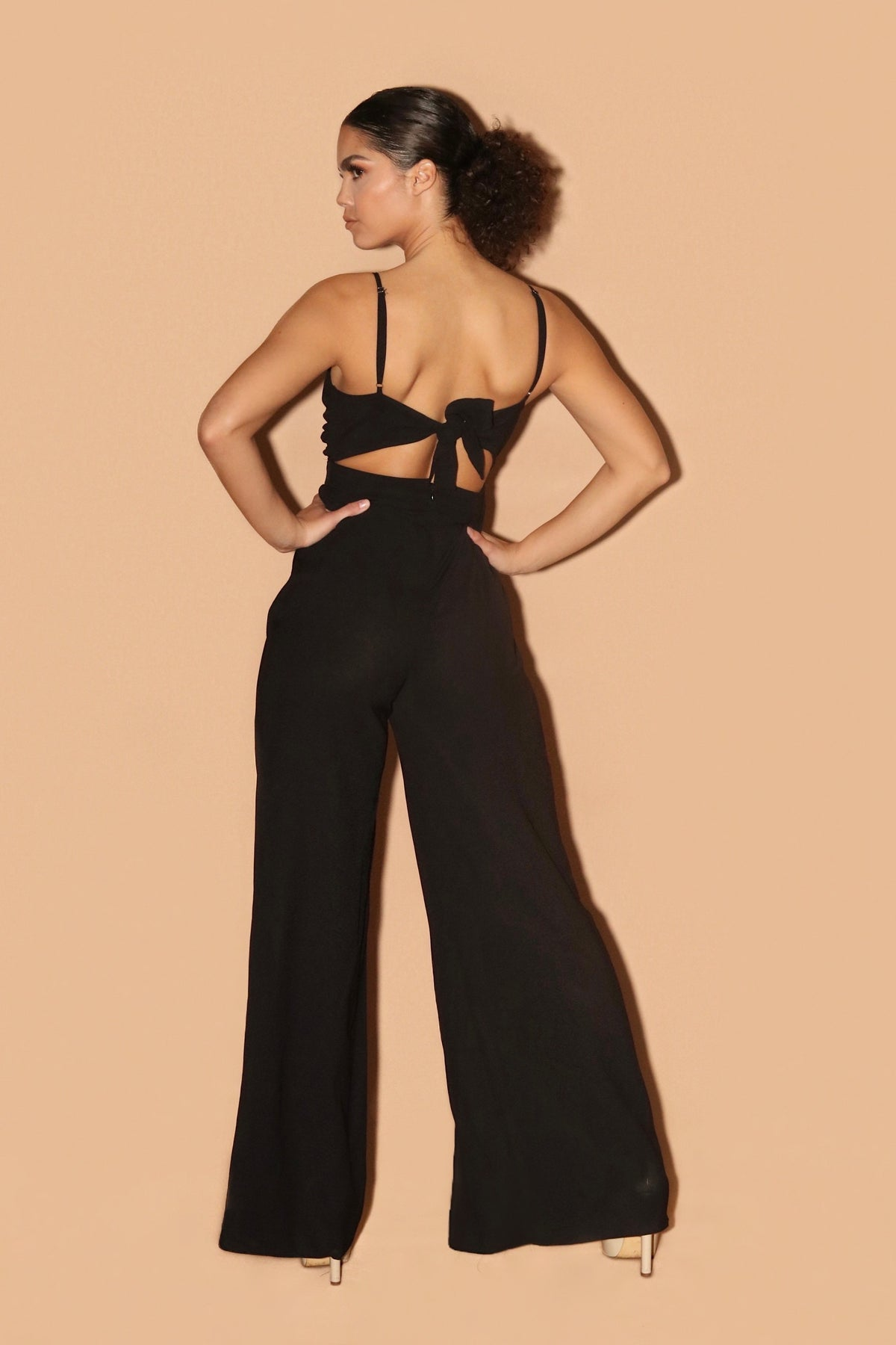 MIMOSA JUMPSUIT | BLACK