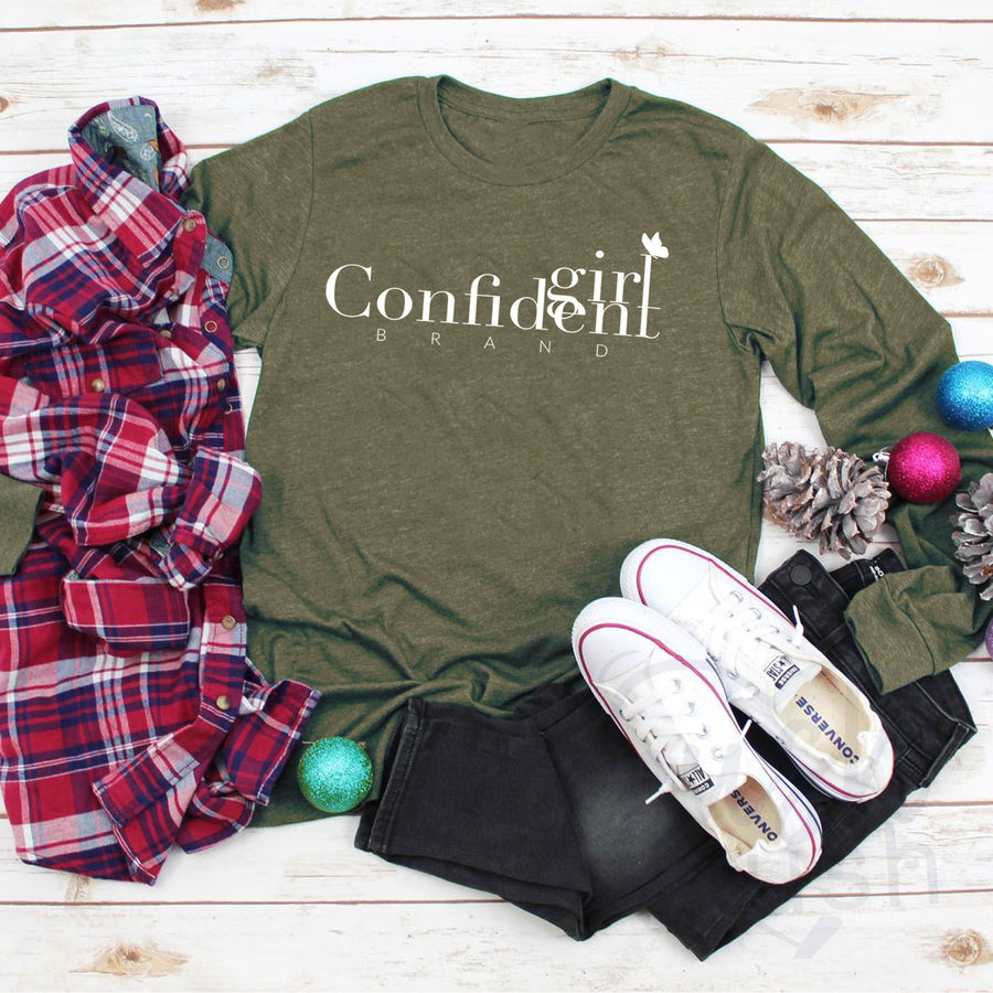 ROCKING HOLIDAY COLLECTION  - Confident Girl Brand TShirt