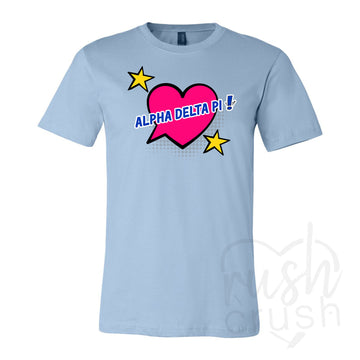 Alpha Delta Pi - Pop Art T-Shirt