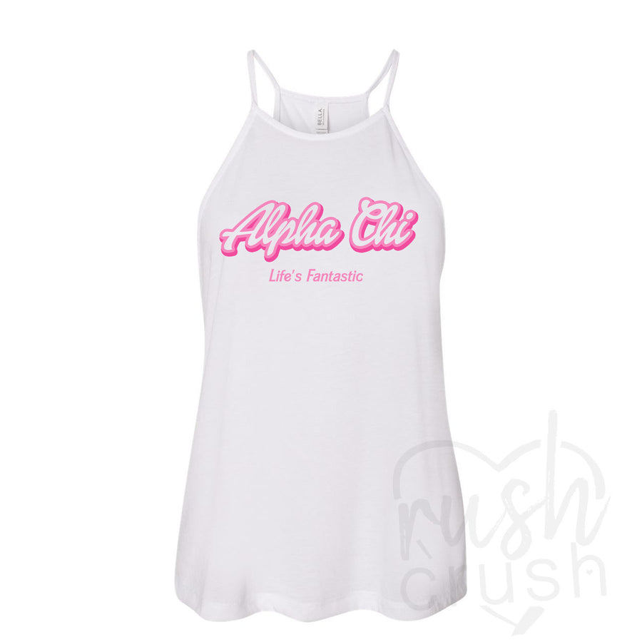 Alpha Chi Omega Life's Fantastic Barbie Top