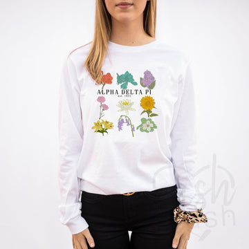 Alpha Delta Pi - Wildflower Variety T-Shirt