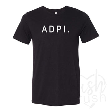 Alpha Delta Pi - Heather Lounge T-Shirt