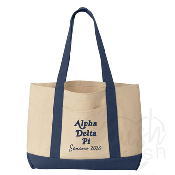 Alpha Delta Pi - Seniors Pocket Tote