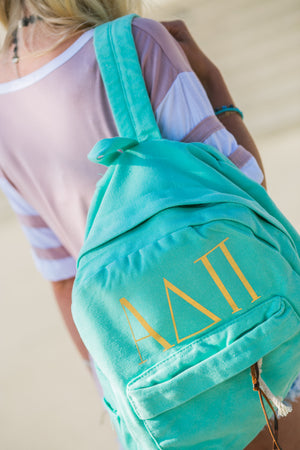alpha delta pi backpack