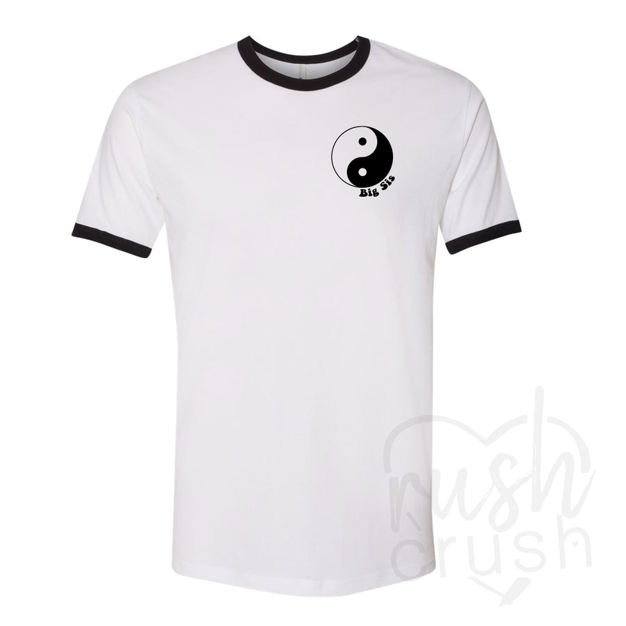 Big and Little - Yin Yang Ringer T-Shirts