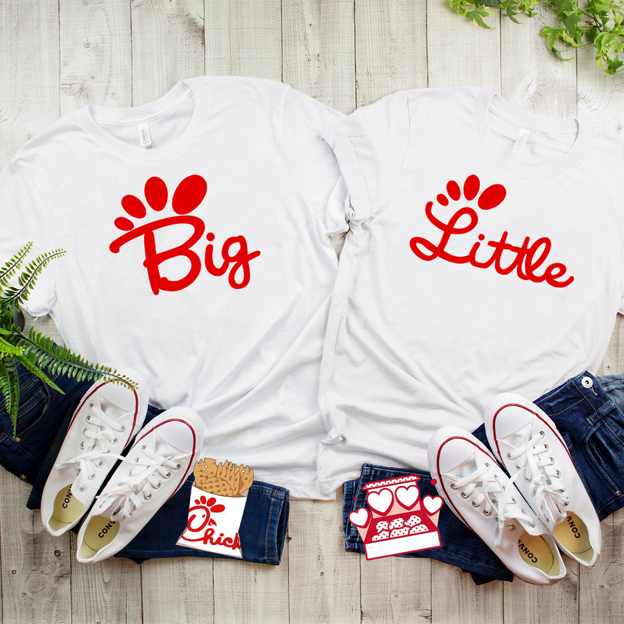 Big and Little - Love Me Some Chicken T-Shirt