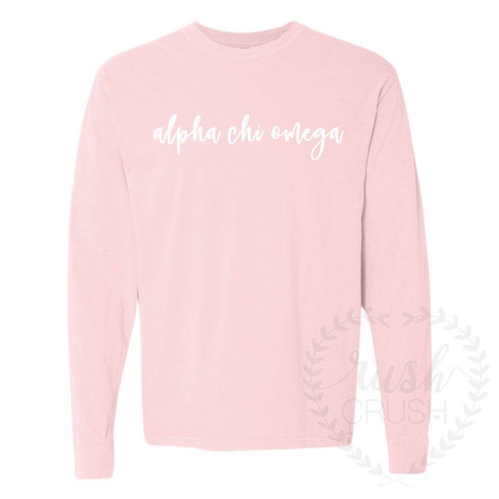 Comfort Colors Simple Long Sleeve Tee *Available for multiple organizations