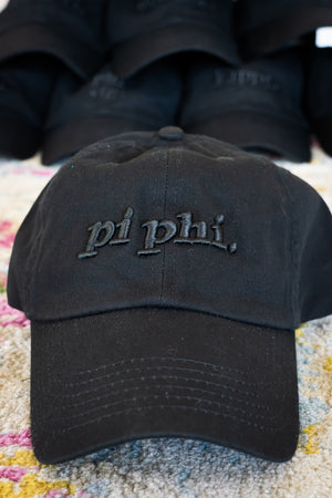 SUMMER SALE! Monochromatic Black Dad Cap *Available for Most Organizations!*