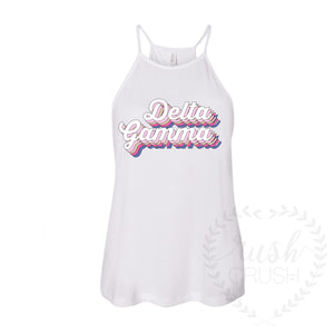 High-Neck Retro Tank Top *available for multiple organizations*