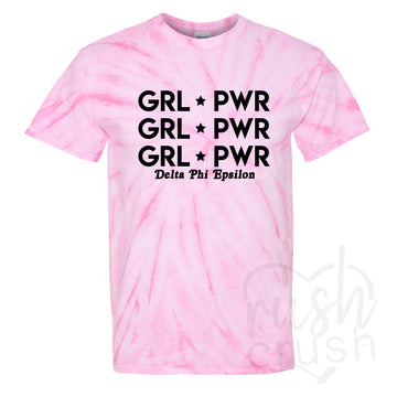 girl power sorority shirts