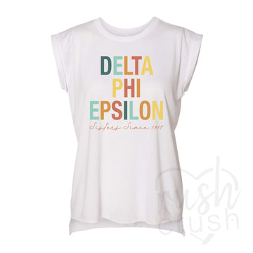 flowy sorority shirts