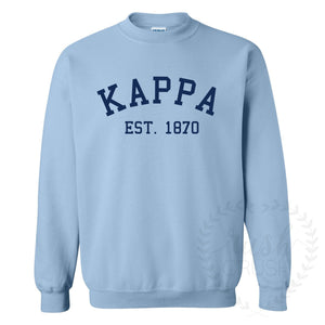 Kappa Established Light Blue Sweatshirt